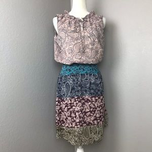 Cabi Dani Dress Paisley Floral Style #5371